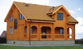 Проект сруба дома 11 на 13м