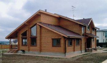 Проект сруба дома 12,5 на 15,5м