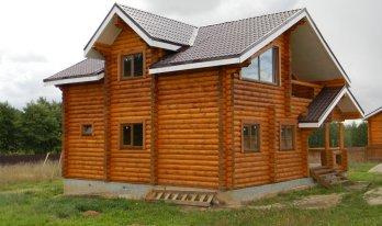 Проект сруба дома 8,8 на 10,8 м