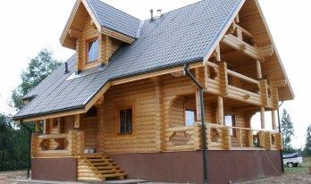 Проект сруба дома 11 на 10,8м